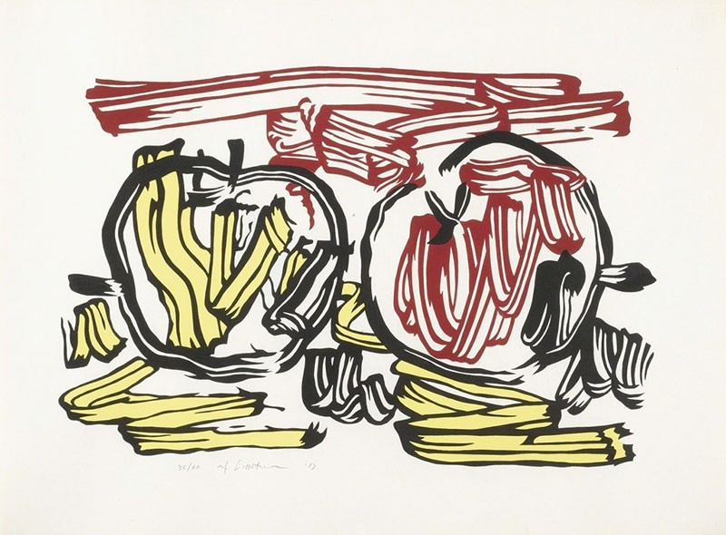 Red Apple and Yellow Apple, 1983