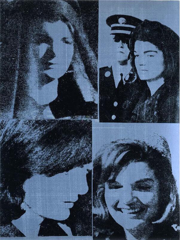 Jacqueline Kennedy III from 11 Pop Artists, Volume III, 1965